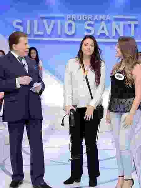 Gabriella Diniz como produtora do Programa Silvio Santos - Reprodução/Instagram