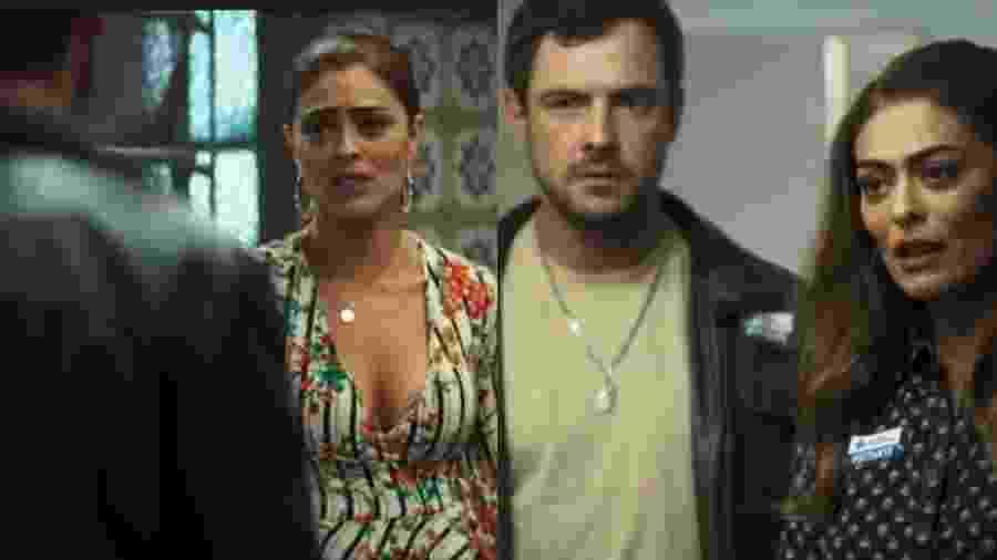 Maria da Paz trocou de roupa magicamente entre cenas - Reprodução/Montagem UOL
