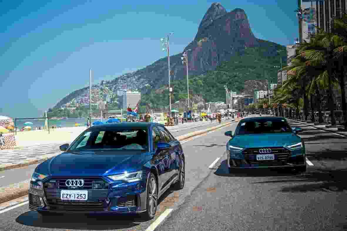 Audi A6 e A7 2020 - Divulgação