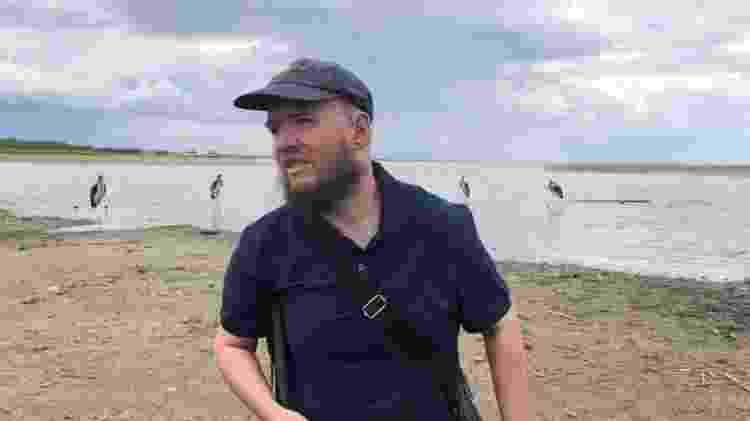 Tony Giles gosta de fugir dos roteiros turísticos tradicionais - The Travel Show, BBC News