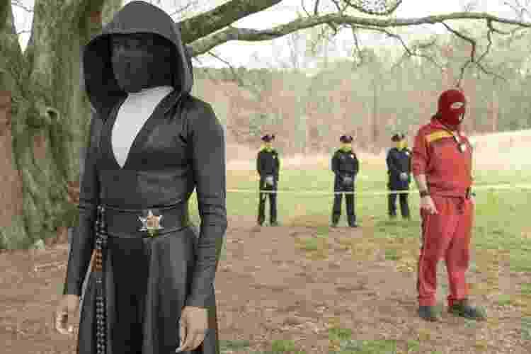 Cena de 'Watchmen', da HBO - Divulgação - Divulgação