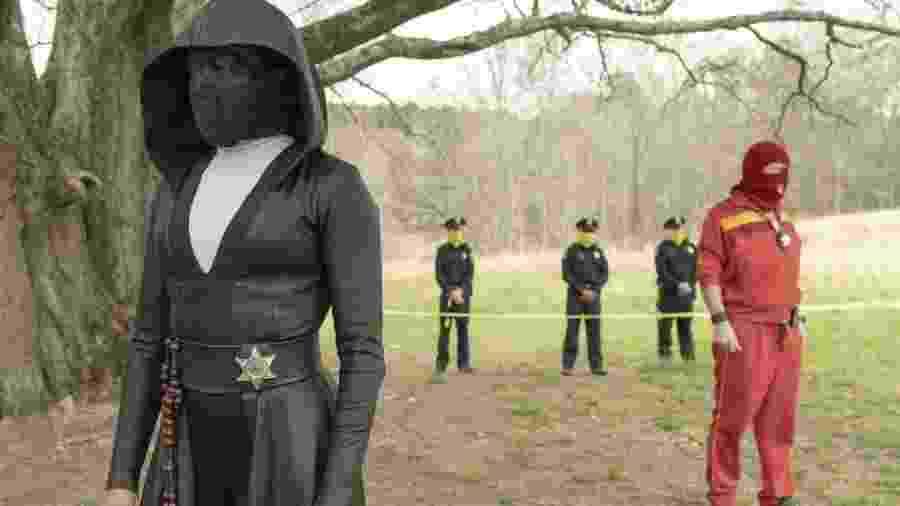 Cena de Watchmen, da HBO - Divulgação
