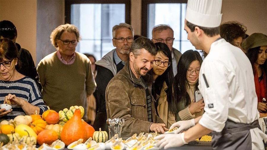 Degustação no museu Cité Internationale de la Gastronomie, em Lyon, na França - Divulgação