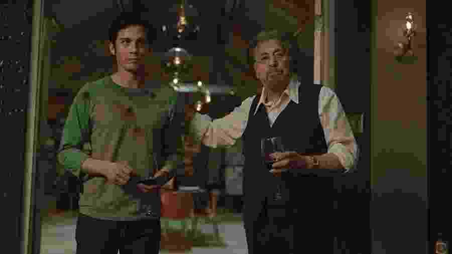"""Logan Lerman e Al Pacino em """"Hunters"""", série do Amazon Prime Video - Divulgação"""