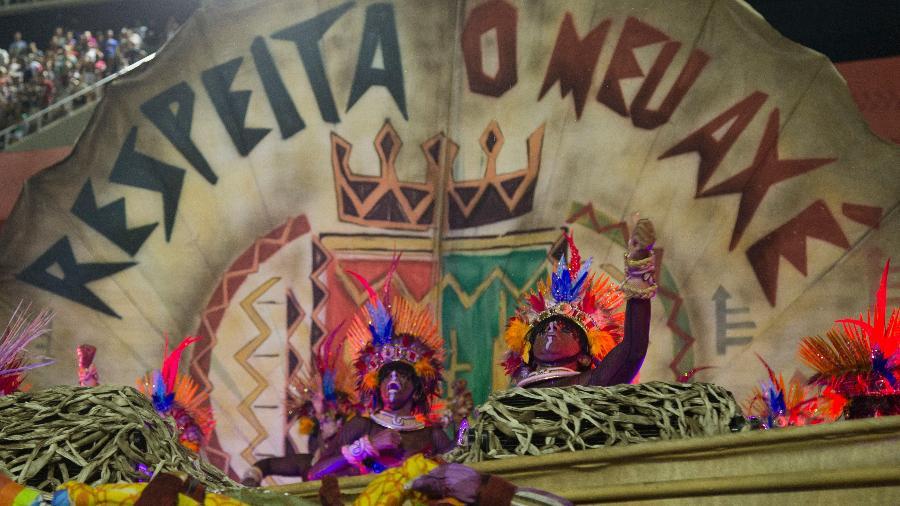 Grande Rio foi a vice-campeã do Carnaval de 2020 na Sapucaí - Júlio César Guimarães/UOL