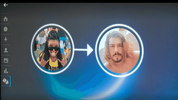 Marina e Lucas no 'The Circle Brasil' - Reprodução/Netflix - Reprodução/Netflix