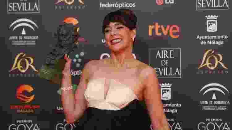 Belen Cuesta ostenta seu Goya, o prêmio mais importante do cinema espanhol - Europa Press News/Europa Press via Getty Images
