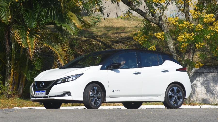 Nissan Leaf - Murilo Góes/UOL