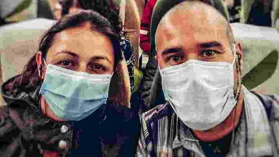 Camila e Rogerio Silveira voltam do Egito após interrupção de uma viagem que já durava um ano e três meses - Arquivo pessoal