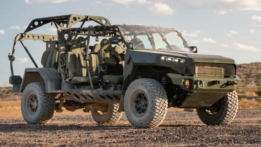 Veículo de infantaria do exército dos EUA feito pela GM - Divulgação
