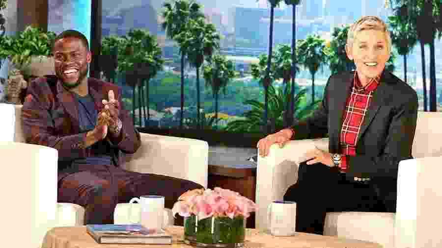 Kevin Hart afirmou que a apresentadora sempre tratou com amor e respeito sua família - Reprodução/Instagram