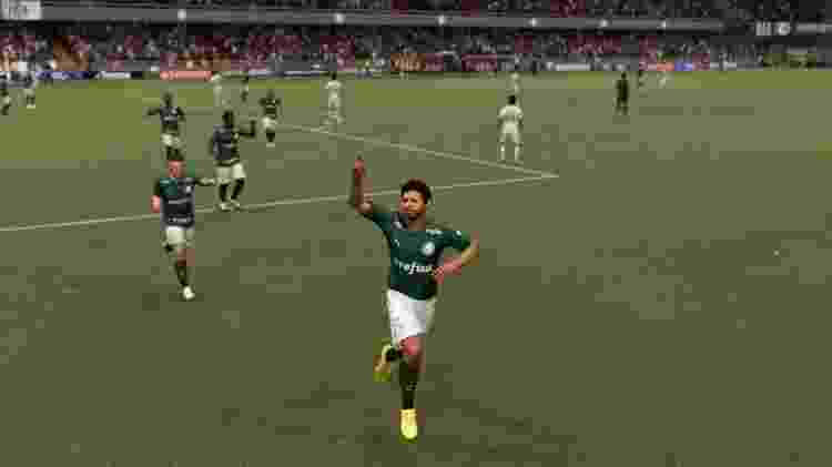 FIFA 21 Fredditinho Palmeiras - Reprodução/START - Reprodução/START