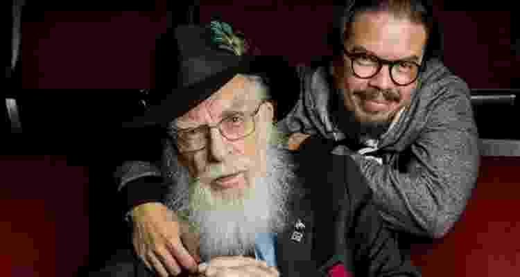James Randi com o marido, Deyvi Peña - Reprodução - Reprodução