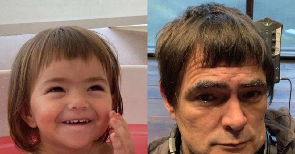 Zoe Sato Nagle é comparada a Samuel Rosa no Instagram