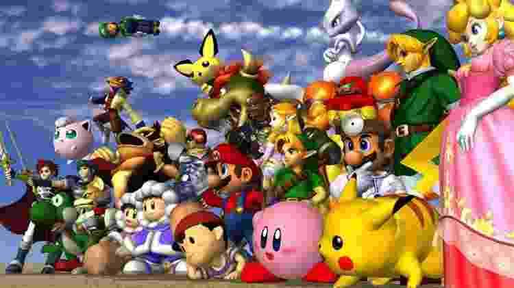 Super Smash Bros. Melee - Divulgação / Nintendo - Divulgação / Nintendo