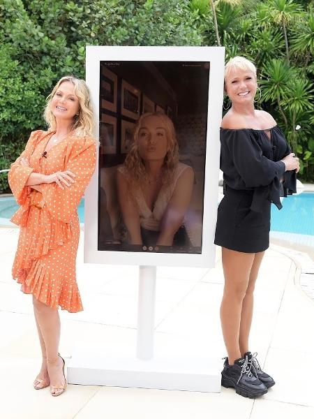 Eliana, Angélica e Xuxa se encontram no programa de Eliana neste domingo - Blad Meneguel/Divulgação