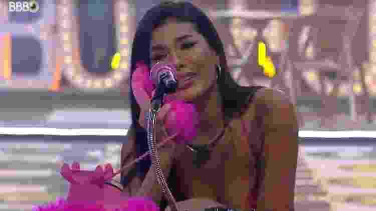 BBB 21: Pocah se emociona por fazer parte do top 8 - Reprodução/ Globoplay - Reprodução/ Globoplay