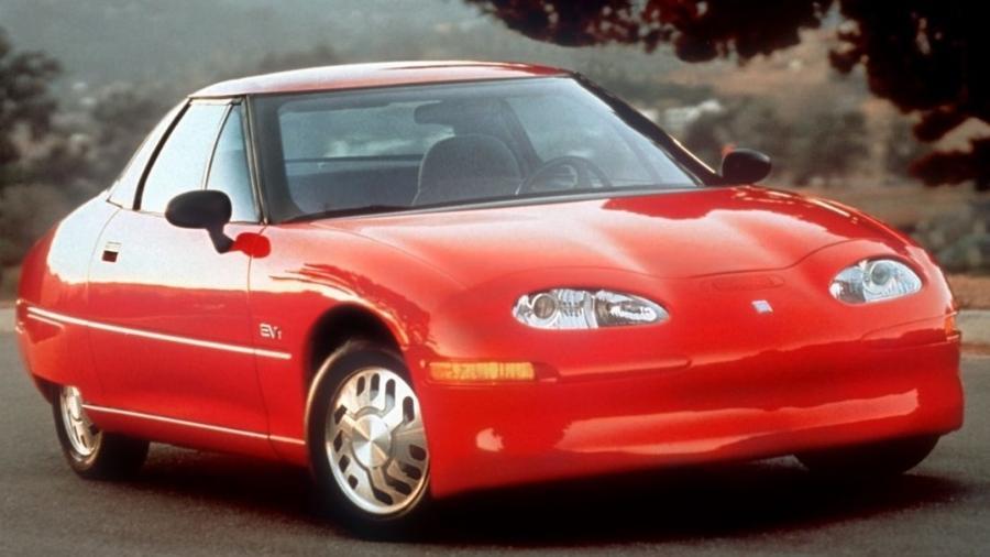 General Motors EV1 foi uma tentativa fracassada da gigante norte-americana em prever como seriam os carros do futuro - Divulgação