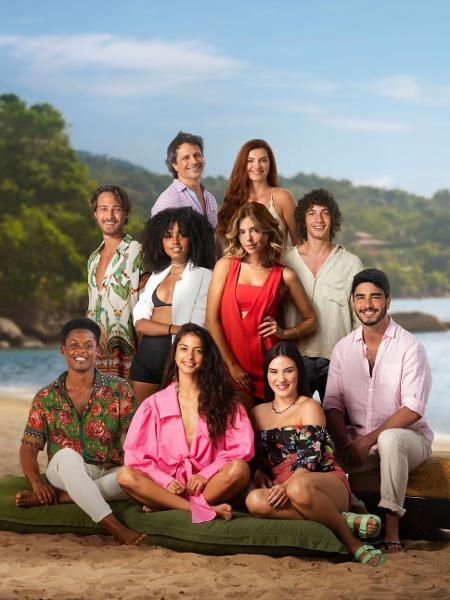 """Elenco de """"Temporada de Verão"""" - Daniel Chiacos/Netflix"""