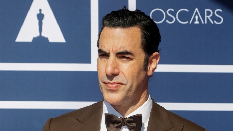 26.abr.2021 - O ator Sacha Baron Cohen - Pool / Getty Images