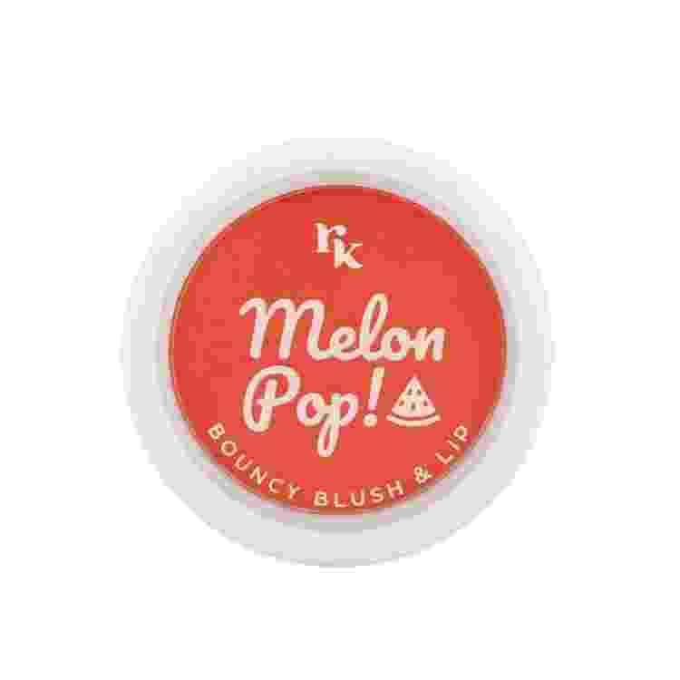Blush Aveludado Melon Pop! Bouncy Blush & Lip, Rk by Kiss. R$32 - Divulgação - Divulgação