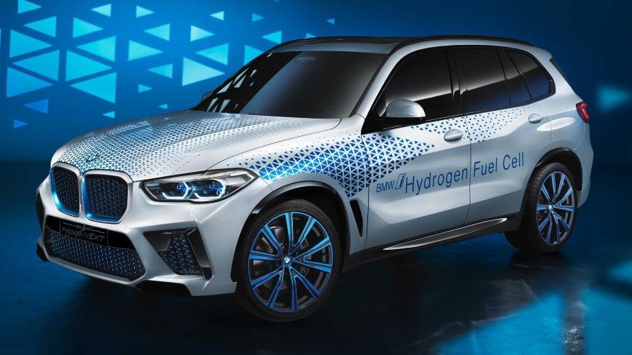BMW X5 a hidrogênio - Divulgação