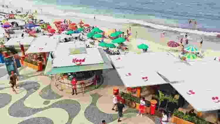 iFood: delivery na praia - Thiago Muniz/Divulgação - Thiago Muniz/Divulgação