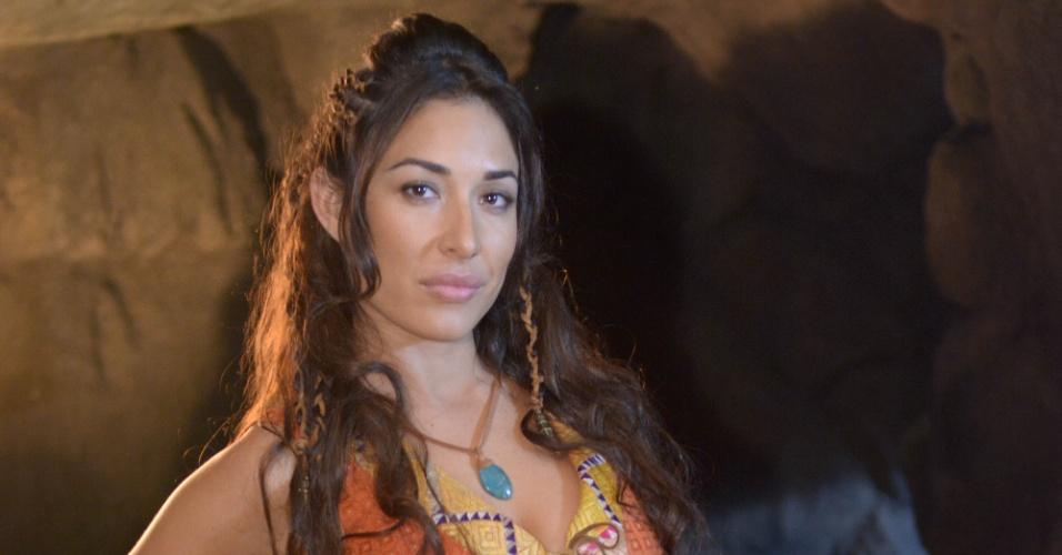 """Giselle Itié como Zípora em """"Os Dez Mandamentos"""""""