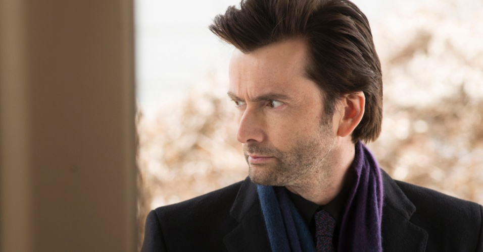 "David Tennant é Kilgrave na série ""Jessica Jones"""