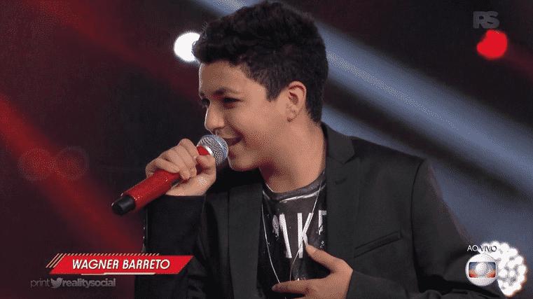 """27.mar.2016 - Final de """"The Voice Kids"""" - Reprodução/TV Globo"""
