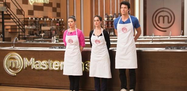 "Leo e Bruna se classificaram para a final do ""MasterChef""; Raquel foi eliminada - Divulgação/Band"
