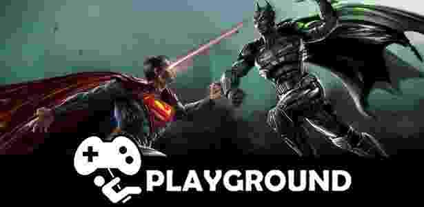 Superman e Batman se enfrentam em um universo rico - que por vezes é até melhor do que a DC Comics produz - Arte/Jogos