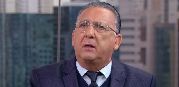 Galvão Bueno vive momentos bem distintos na TV nessa últimas horas - Reprodução/TV Globo
