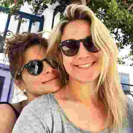 Fernanda Gentil e a namorada Priscila Montandon - Reprodução/Instagram