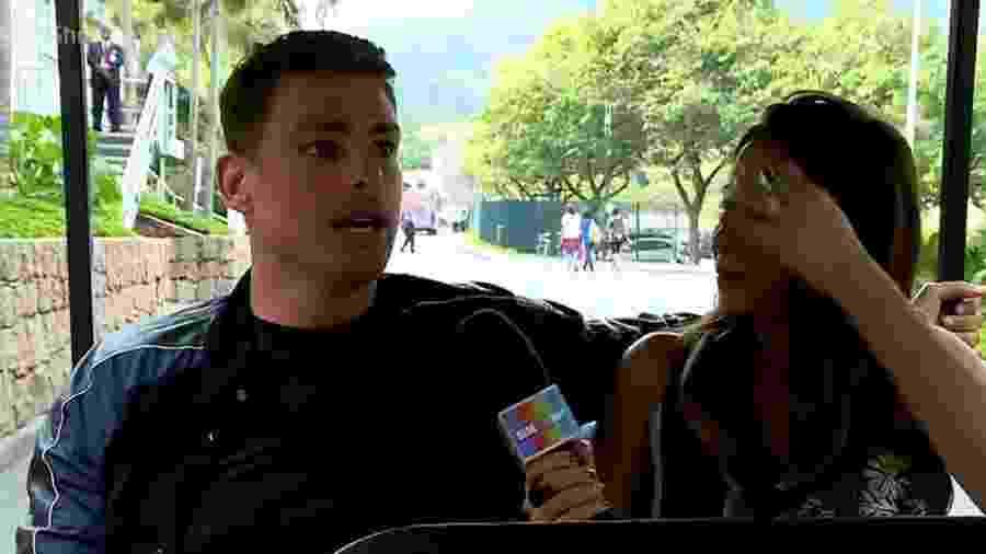 """""""Sou namorador, não sou de ficar sozinho muito tempo"""", diz o ator Cauã Reymond no """"Vídeo Show"""" - Reprodução/TV Globo"""