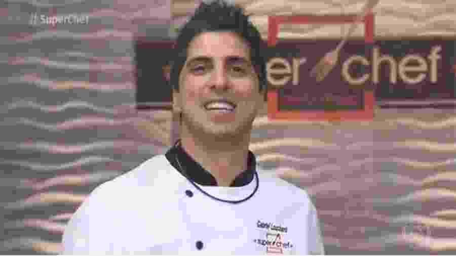 """Gabriel Louchard no """"Super Chef Celebridades"""" - Reprodução/Globo"""