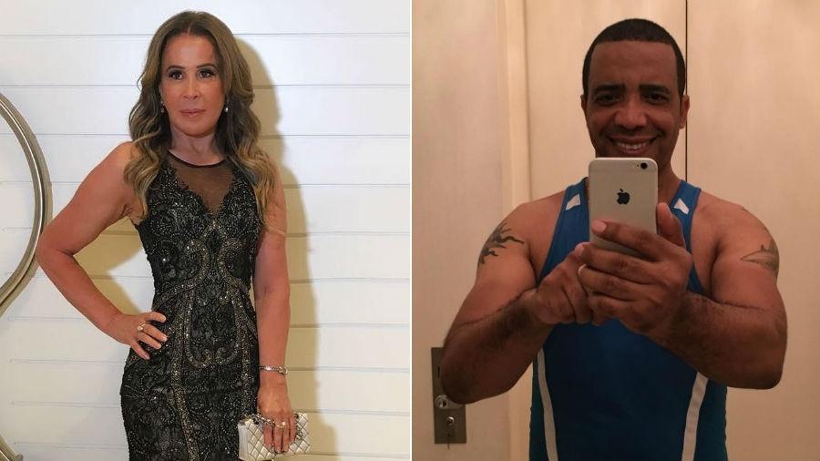 Zilu e  Marco Antonio Teles surgem sem alianças de noivado - Reprodução/Instagram