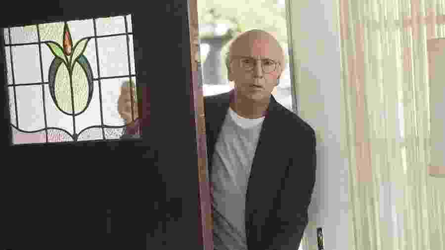"""Larry David em cena de """"Curb Your Enthusiasm"""" - Reprodução"""