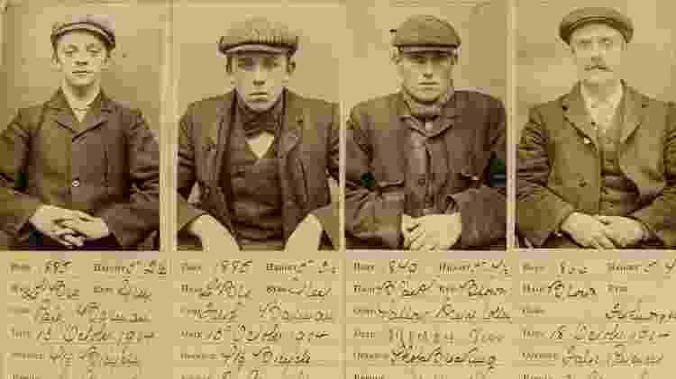 Os verdadeiros Peaky Blinders - Reprodução - Reprodução