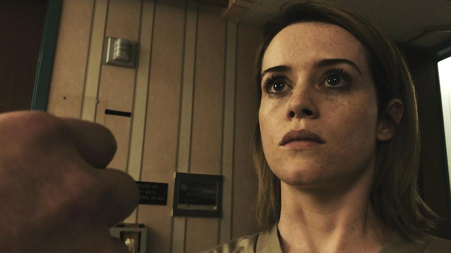 """Cena do filme """"Unsane"""", gravado totalmente com um iPhone, do diretor Steven Soderbergh - Reprodução"""
