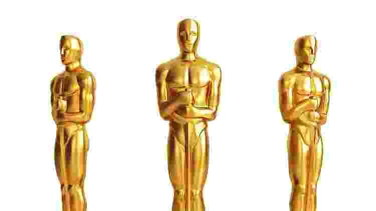 As desejadas estatuetas do Oscar - Reprodução - Reprodução