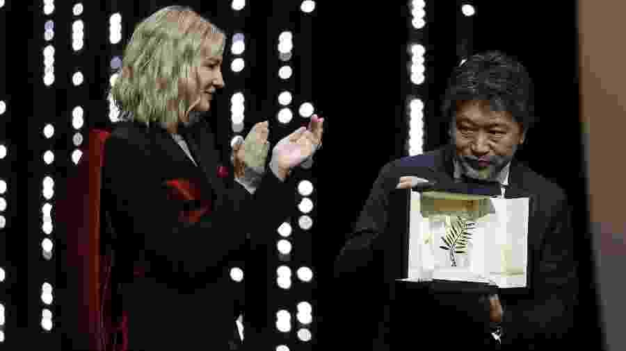 """""""Shoplifters"""" do diretor Hirokazu Kore-eda é o grande vencedor do Festival de Cannes - REUTERS/Eric Gaillard"""