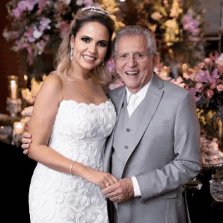 Carlos Alberto de Nóbrega e Renata Domingues - Reprodução/Instagram