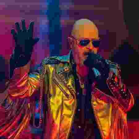 Rob Halford, vocalista do Judas Priest - Reprodução/Facebook/JudasPriest