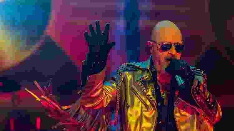 O cantor Rob Halford, do Judas Priest - Reprodução/Facebook/JudasPriest - Reprodução/Facebook/JudasPriest