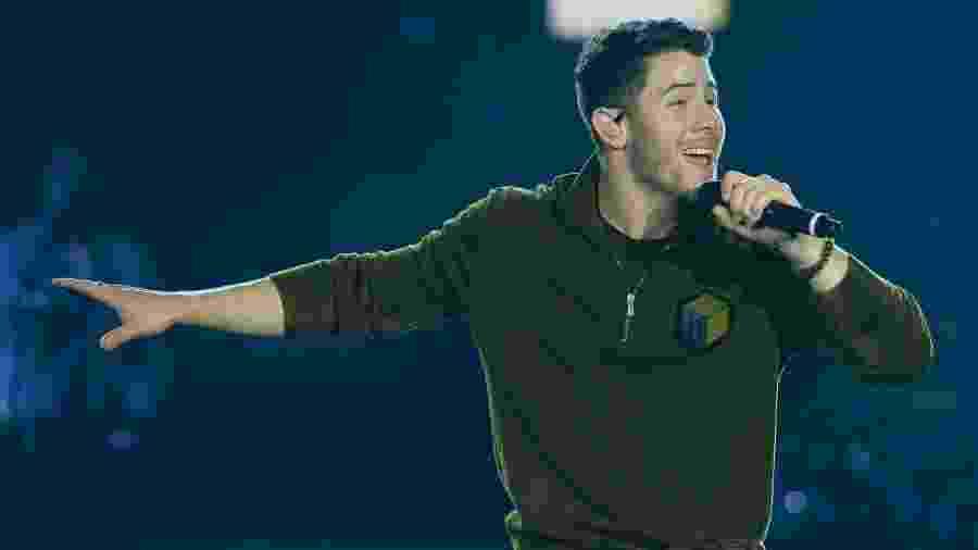 Nick Jonas se apresenta no VillaMix Festival Goiânia - Francisco Cepeda/AgNews