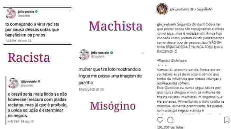 Gagliasso e Ewbank apagam posts com críticas a youtuber - Reprodução/Instagram - Reprodução/Instagram