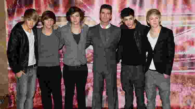 """Simon Cowell juntou cantores do """"The X-Factor"""" para fundar o One Direction - Ian Gavan/Getty Images - Ian Gavan/Getty Images"""