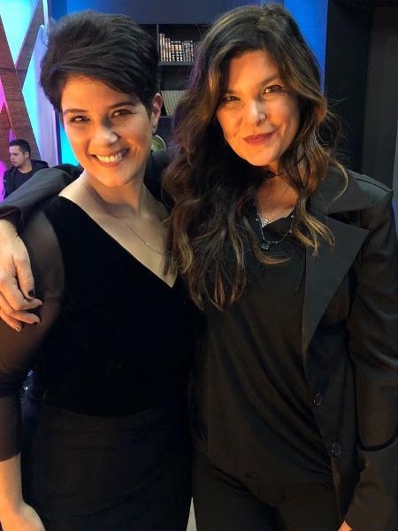 """Programa """"Mariana Godoy Entrevista"""" recebe a atriz Cristiana Oliveira - Divulgação/RedeTV!"""