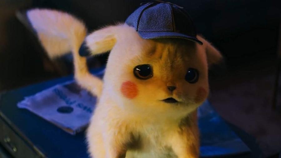Pikachu em cena de live-action de Pokémon - Reprodução